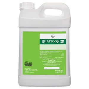 Rhapsody 25 Gallon Bottle Product Package