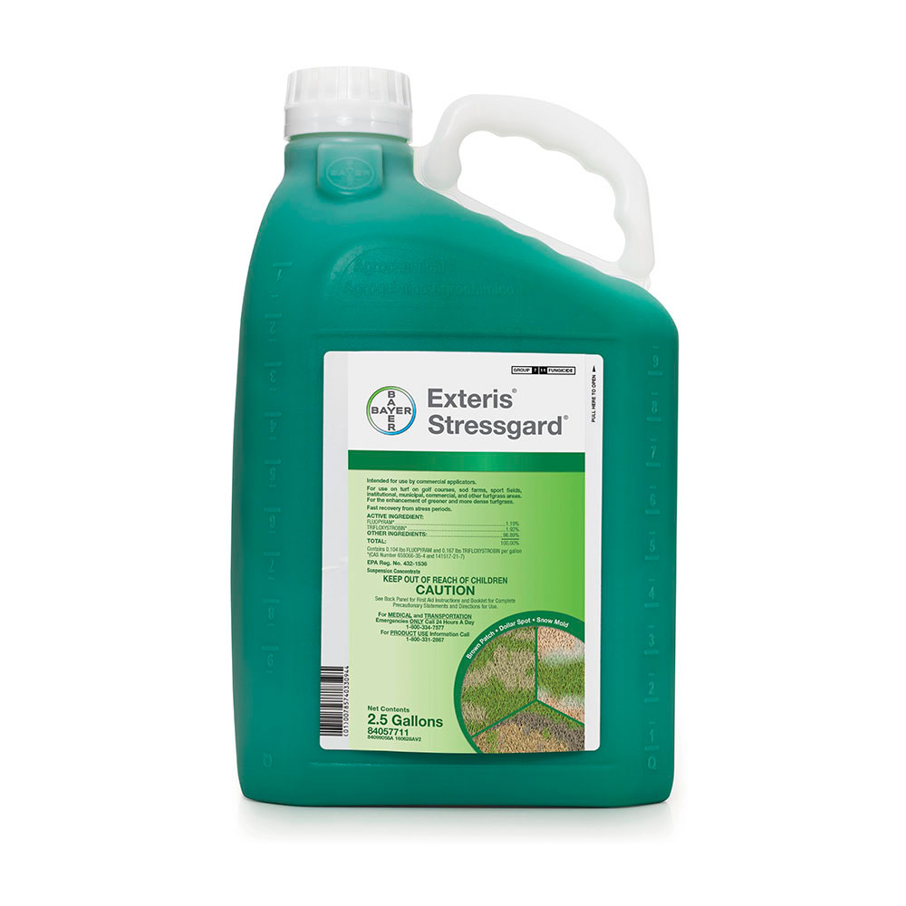 Exteris Stressgard 25 Gallon Bottle Product Package