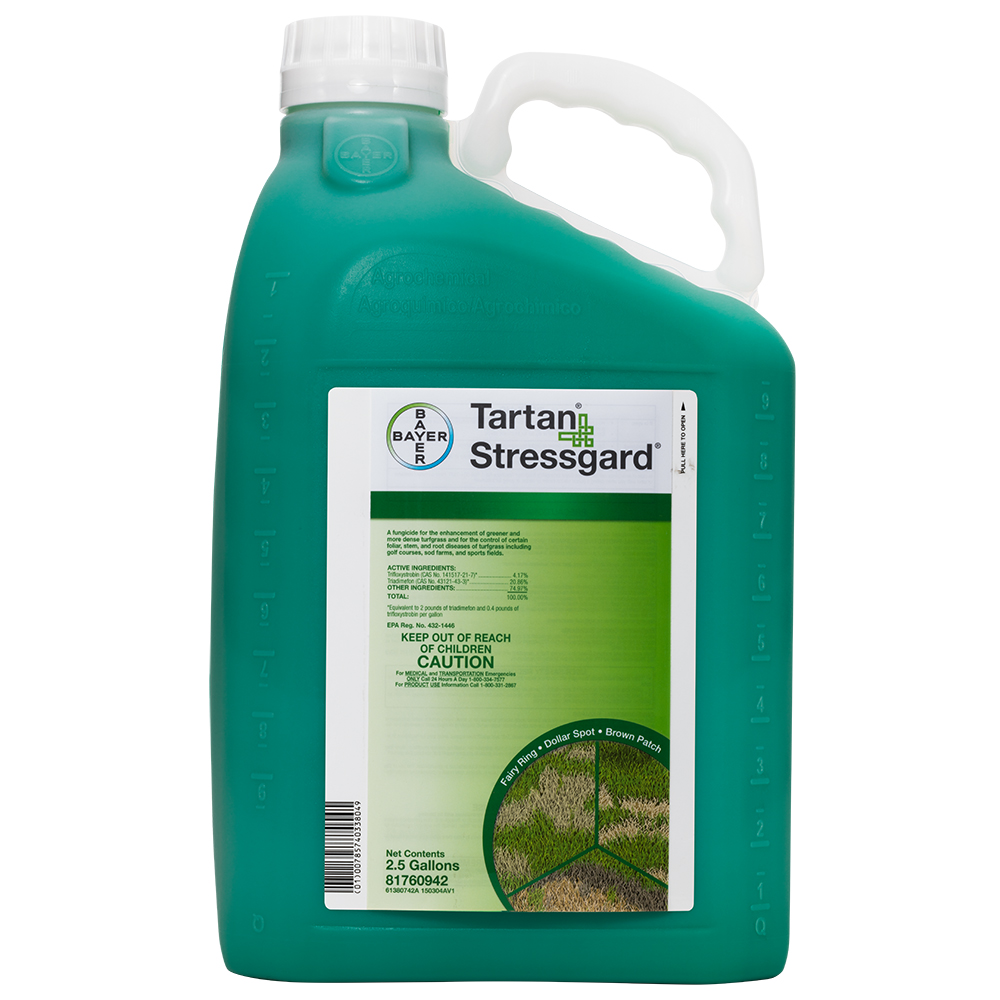 Tartan Stressgard 25 Gallon Bottle Product Package