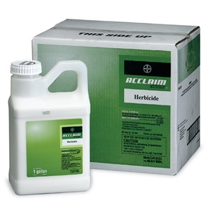 Acclaim Extra 1 Gallon Bottle Product Package