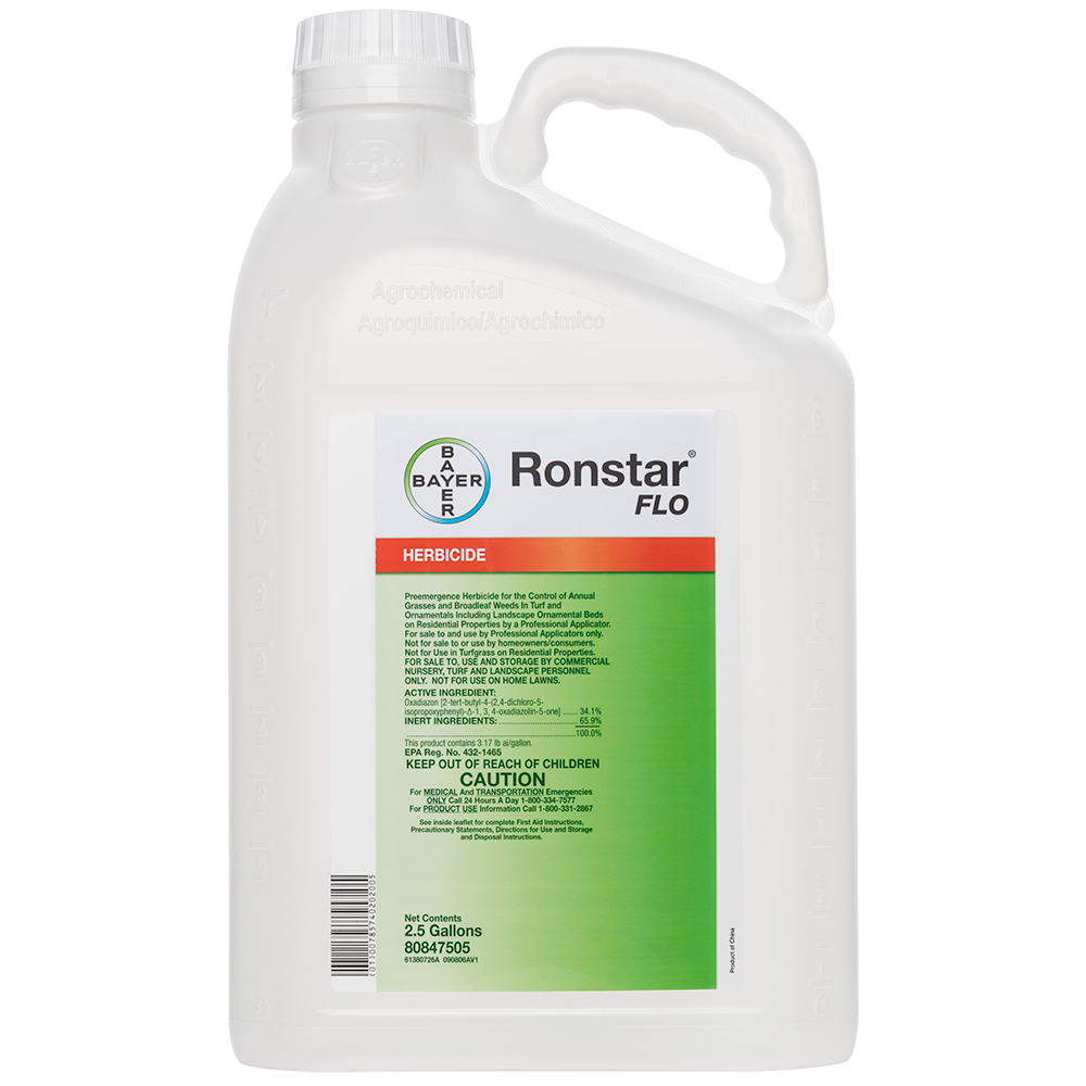 Ronstar FLO 25 Gallon Bottle Product Package