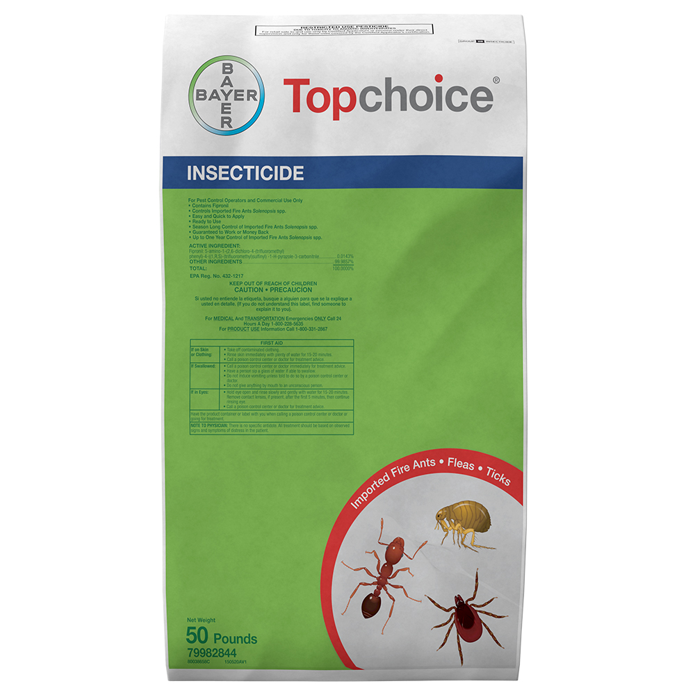 Topchoice 50 lb Bag Product Package