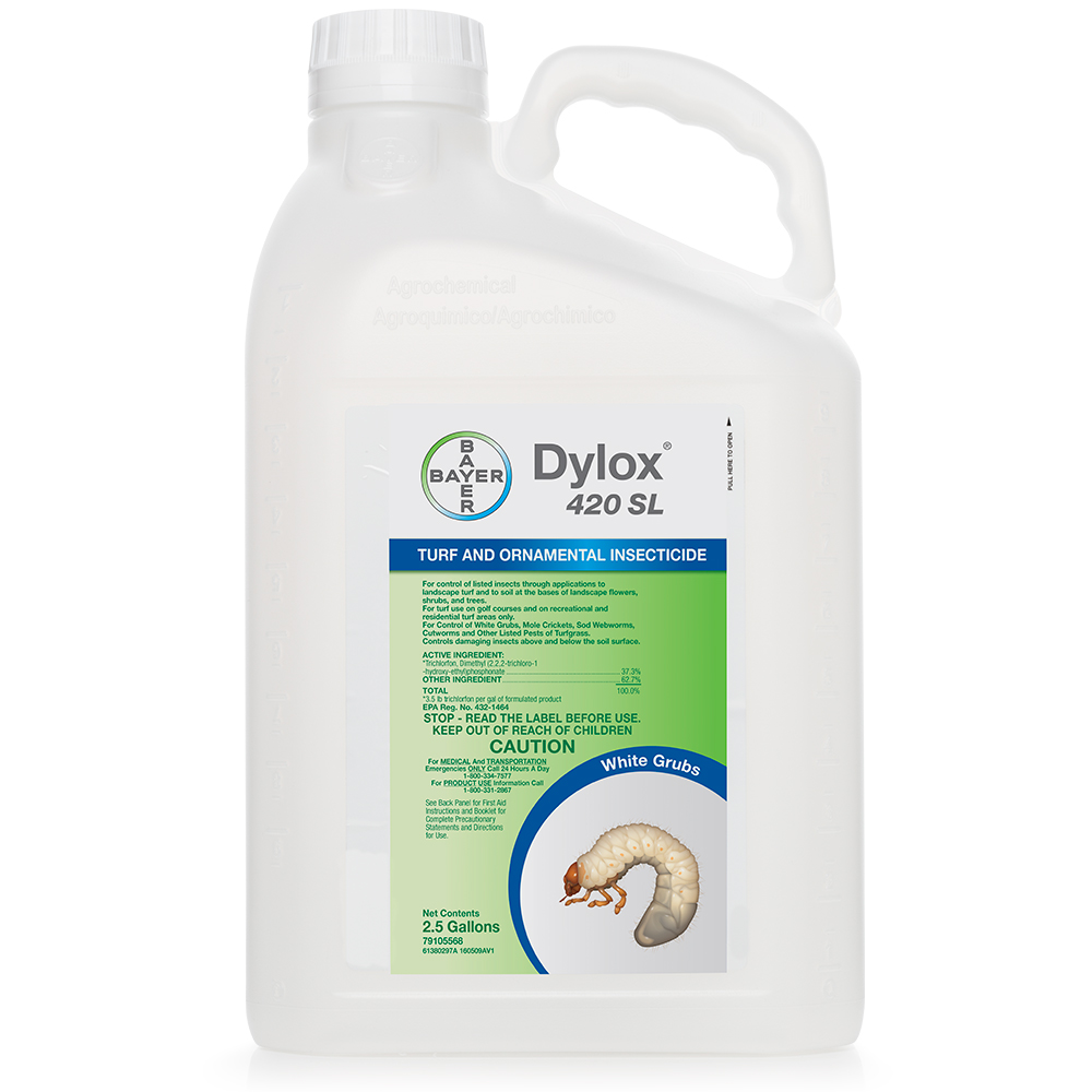 Dylox 420 SL 25 Gallon Bottle Product Package
