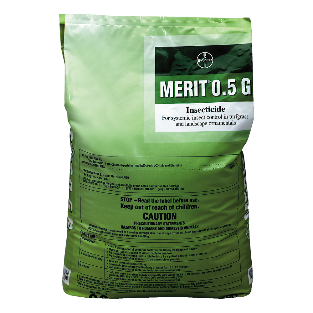 Merit 0.5 G 30 lb Bag Product Package