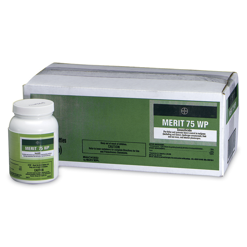 Merit 75 WP 2 oz Bottle Product Package