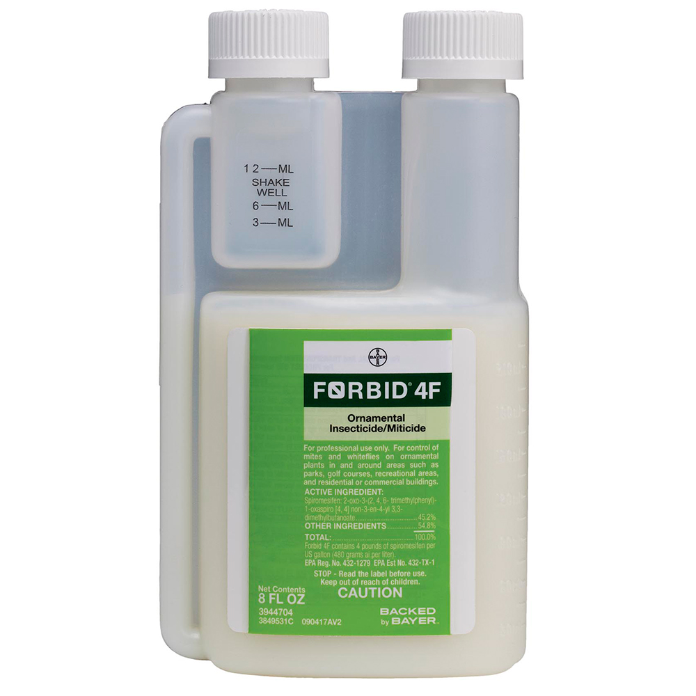 Forbid 4F 8 oz Bottle Product Package