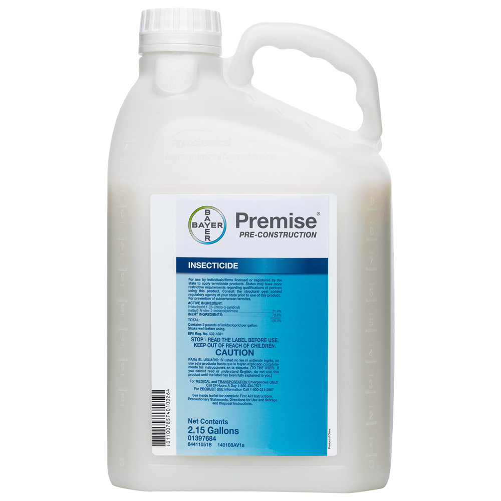 Premise Pre-Construction 215 Gallon Bottle Product Package