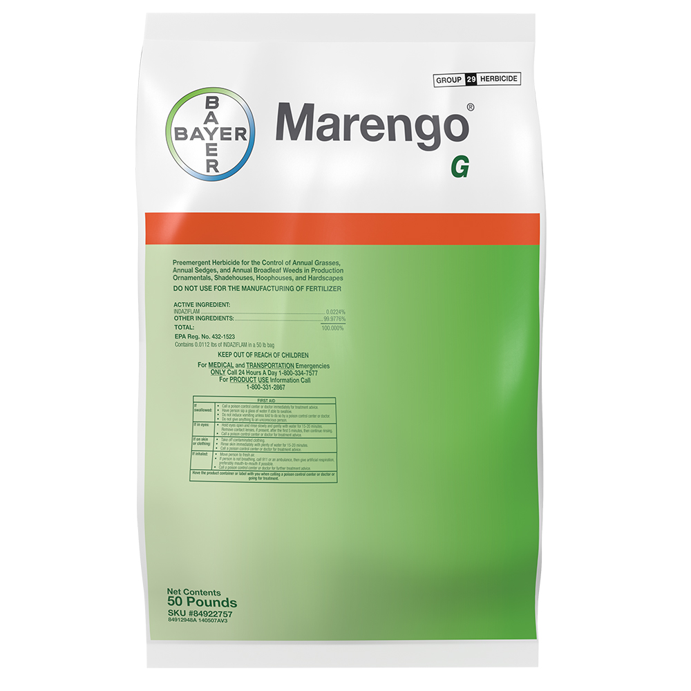 Marengo G 50 Lb Bag Product Package