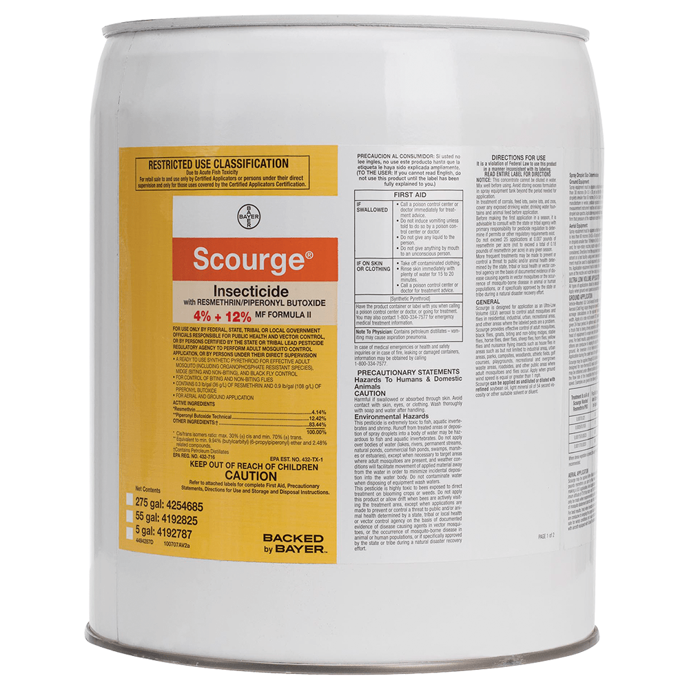 Scourge 4-12 5 Gallon Tub Product Package