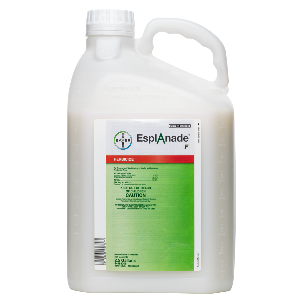Esplanade F 25 Gallon Bottle Product Package
