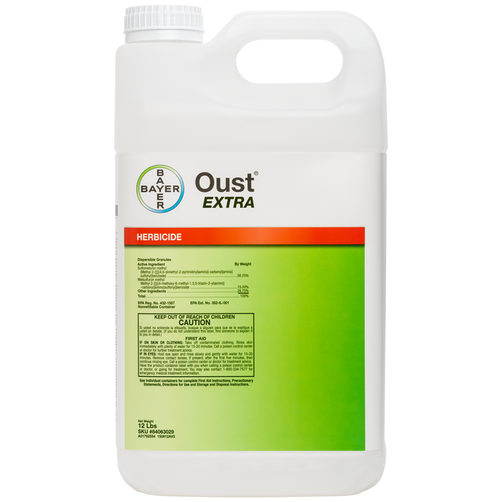 Oust EXTRA 12 Lb Product Package