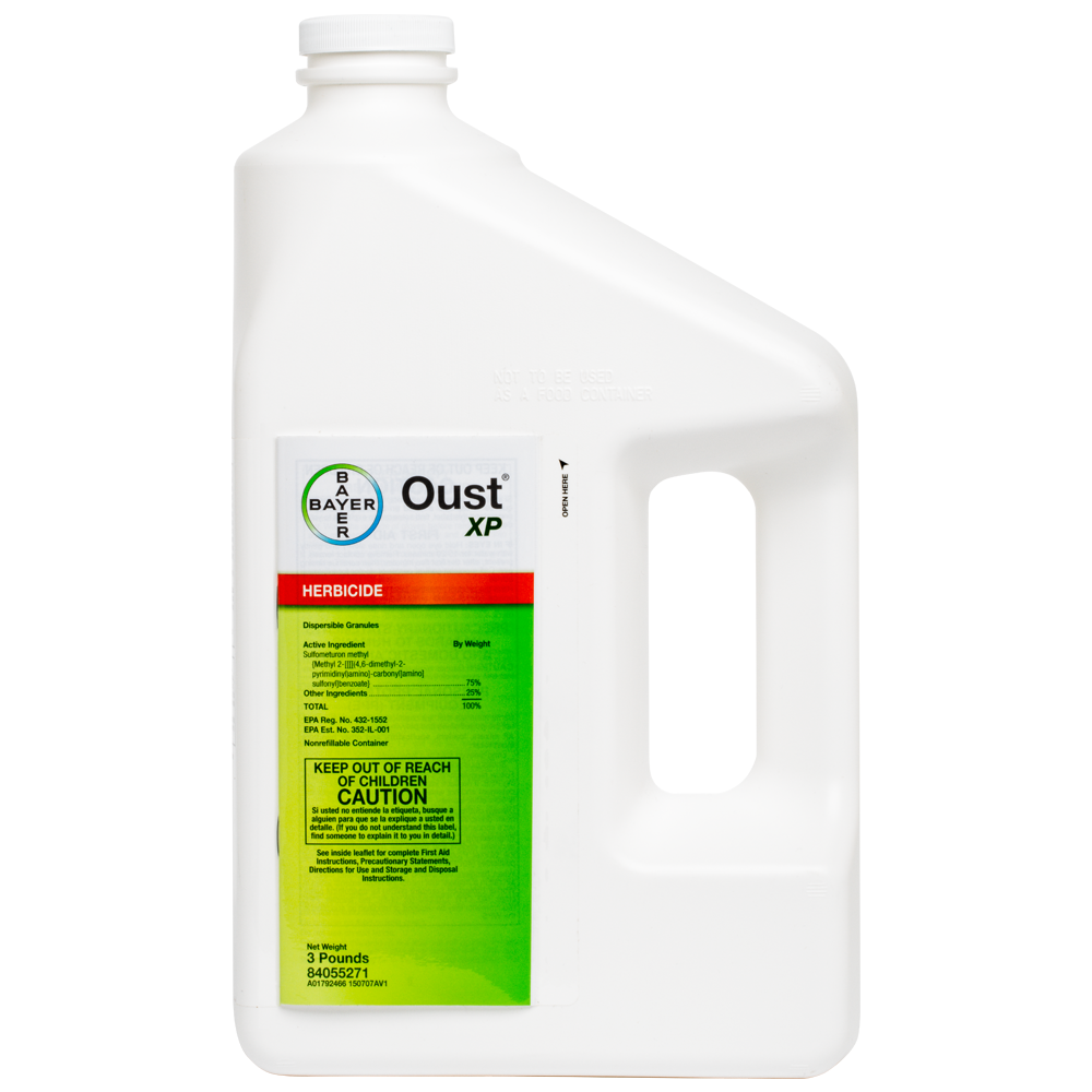 Oust XP 3 Lb Bottle Product Package