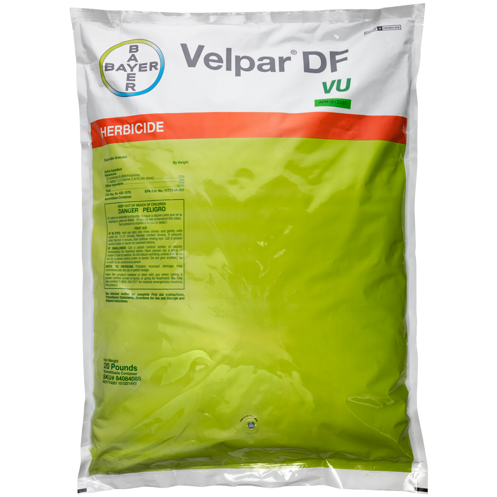 Velpar DF VU 20 Lb Bag Product Package
